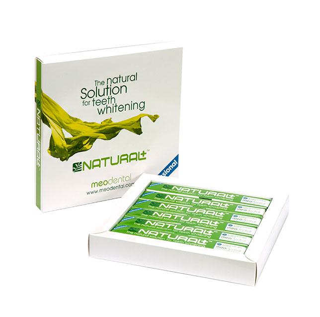 Natural+ <sup>TM</sup>  Die natürliche Zahnaufhellung in der Praxis